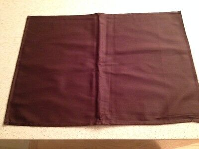Brand New 20 x 100% Luxury Cotton Chocolate Colour Placemats or Napkins