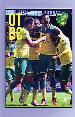 NORWICH CITY  v  AFC BOURNEMOUTH  2014-15