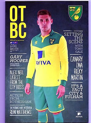 NORWICH CITY  v  FULHAM  2014-15