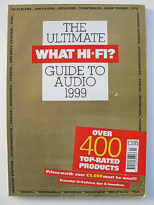 What Hi-Fi Magazine - The Ultimate Guide To Audio 1999 - Contents Shown