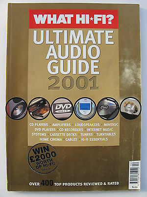 What Hi-Fi Magazine - The Ultimate Guide To Audio 2001 - Contents Shown