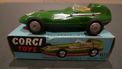 Vintage Corgi 150 Vanwall Forumla 1 Grand Prix - Boxed in Excellent Condition