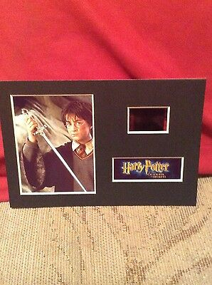 Harry Potter and the chamber of secrets 6x4 film cell display 7 DAY SALE