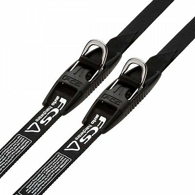 FCS Premium Tie Down Straps - Car/Auto Straps for Surfboards/SUP/Kayak