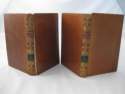 History Of England From The Earliest Times - Goldsmith (Volumes 1 & 2, 1815)