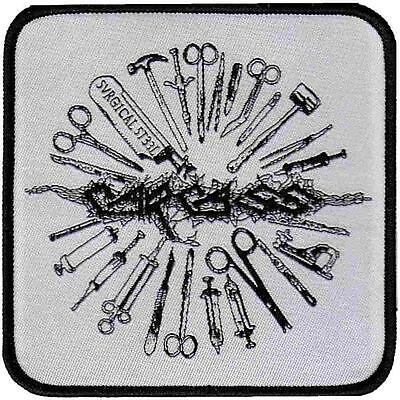 Official Licensed - Carcass - Tools Sew On Patch Extreme Metal