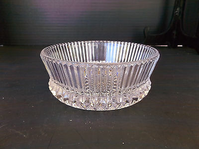 Vintage Round Glass  Candy Dish