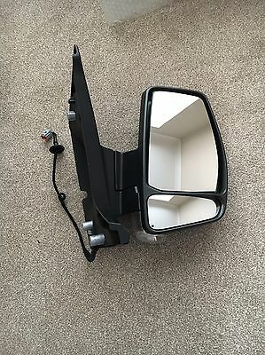 Ford Transit Tourneo Custom RH Off Side Door Wing Mirror With Indicator