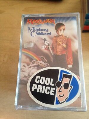 Marillon - Misplaced Childhood MC Cassette Tape  Sigillata Sealed Made In Italy