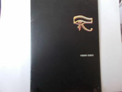 Sisters Of Mercy Vision Thing Tour Programme