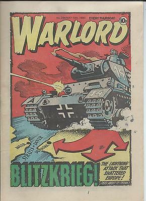 Warlord Comic number 294 May 10th 1980
