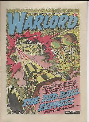 Warlord Comic number 279 January 26th 1980