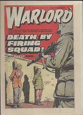 Warlord Comic number 196 June 24th 1978