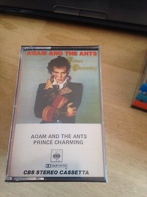 Adam And The Ants Prince Charming MC Cassette Tape Sigillata Sealed 40cbs85268