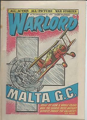 Warlord Comic number 271  December 1st 1979