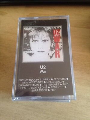 U2 War MC Cassette Tape Sigillata Sealed Made In Italy