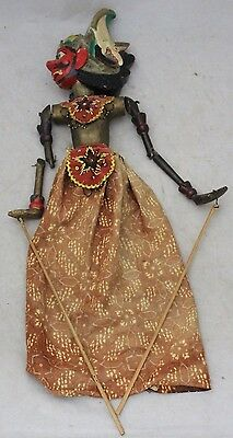 Vintage Indonesian God Rod Theatre Hand Puppet - 210