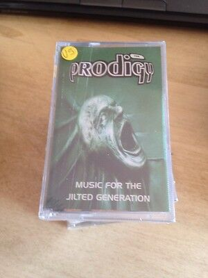The Prodigy Music For The Jilted Generation Cassette Mc Tape Sealed Udp Italy