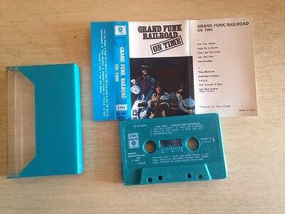 Grand Funk Railroad On Time Cassette Mc Tape Made In Italy 3c24480249