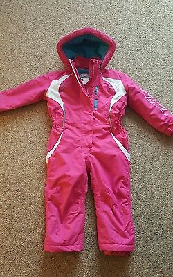 Girls No Fear ski suit age 1-2 year's