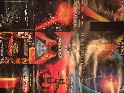 Star Trek Poster of 9 film poster all together