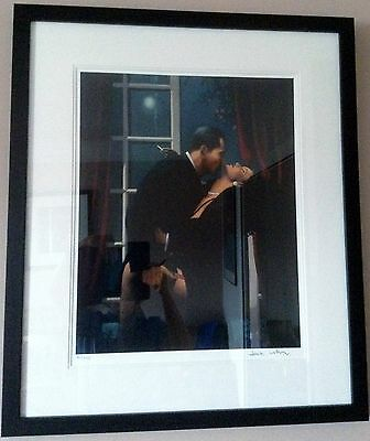"""Jack Vettriano """"Night Geometry"""" signed limited edition framed print"""