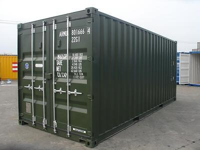 20ft x 8ft One Way Shipping Container