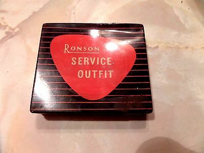 Vintage Ronson Lighter Service Tin