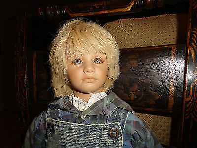 """Annette Himstedt, Timi USA, Boy From Germany, 23"""", AO,1987-'88,Free Shipping"""