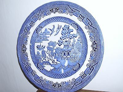 """Royal Wessex Blue Willow 10"""" Dinner Plate"""