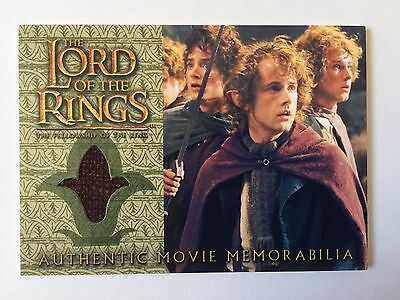 Topps FOTR Lord Of The Rings Pippin's Travel Cloak Costume Memorabilia Card LOTR