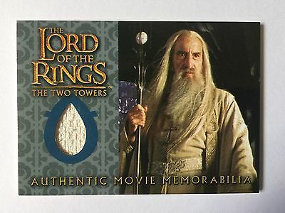 Topps TTT Lord Of The Rings Saruman's Overtunic Costume Memorabilia Card LOTR