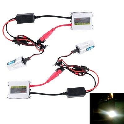 35W 2x H7 Slim HID Xenon Light, High Intensity Discharge Lamp, Color Temperature