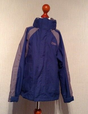 gelert weather waterproof breathable blue Jacket age 7-8 boys