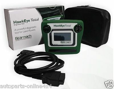 Bearmach Hawkeye Total *new* Diagnostic Fault Code Reader- All Range Rover's