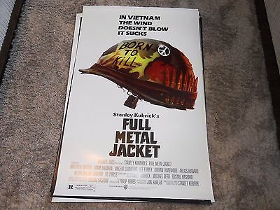 Full Metal Jacket One Sheet / Stanley Kubrick