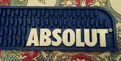 Absolut Vodka Rubber Liquor Drink Shot Bar Spill Restaurant Rail Mat