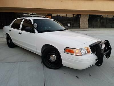 2009 Ford Crown Victoria  2009 Ford Crown Victoria Police Interceptor Fully Equipped! NO RESERVE!!!