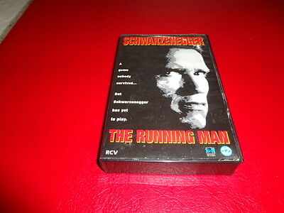 The Running Man - Vhs - Arnold Schwarzenegger