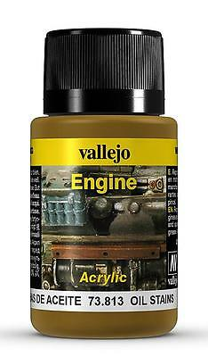 Vallejo 73813 Weathering Effects 40 ml - Öl-Flecken (EUR15,00/100ml)