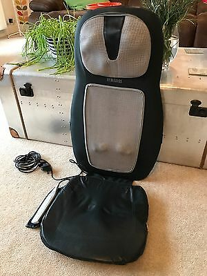 Homedics Shiatsu Back, Neck and Shoulder Massager With Heat and Rolling Balls