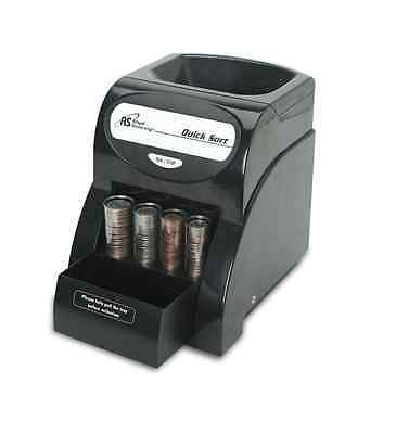 Quick Coin Sorter Money Counter Machine Change Electric Count Wrapper Business