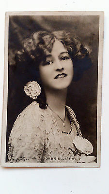 Old real photo postcard Gaberielle Ray