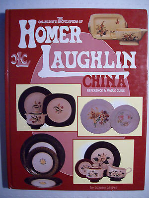 VINTAGE HOMER LAUGHLIN PRICE GUIDE COLLECTORS BOOK Plates Dish Creamer + more