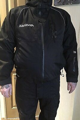 Daiwa Waterproof Fishing Suit.                       Used Carp Fishing tackle