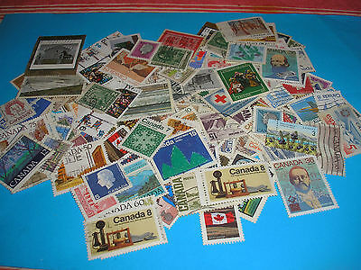 150 Timbres Canada Obliteres N° 48