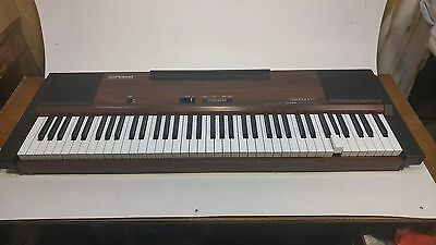 Vintage Roland Electronic Piano/Keyboard HP-100 Piano Plus 100 - READ