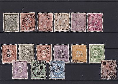 Netherlands Indies Stamps On Stock Card Ref R 2576