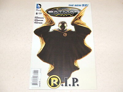 Batman Inc 8 FIRST PRINTING (DC Comics) Apr 2013 GRANT MORRISON