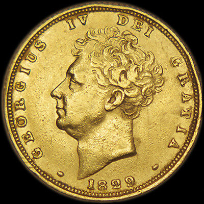 King George The Iv 1829 Gold Sovereign
